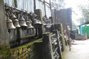 People offer Bells to Lord  Shiva once their wish is fulfilled