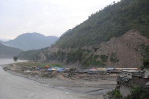banks of Sunkoshi